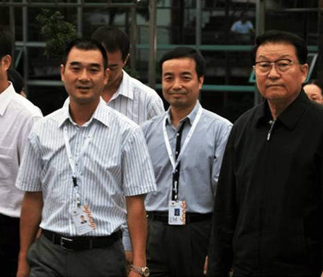 时任国家领导人李长春来司考察
