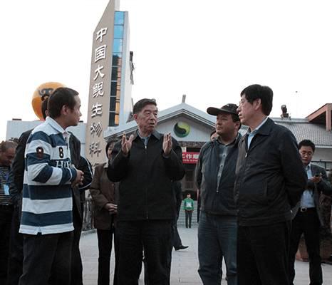 原国家发改委常务副主任王春正来我司考察